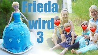 Kindergeburtstag ELSA I Frieda wird 3 I Mellis Blog