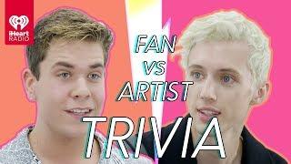 Troye Sivan Challenges A Super Fan In A Trivia Battle   Fan Vs. Artist Trivia