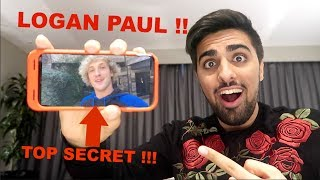 LOGAN PAUL SENT ME A MESSAGE !!! *Private Video*