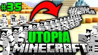 Die 50.000 KLON-ARMEE?! - Minecraft Utopia #035 [Deutsch/HD]