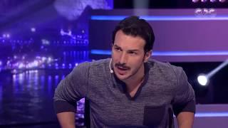 الليلة دي | لماذا يرتدي باسل خياط ملابس زوجته ؟ رد غريب من الفنان