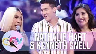 GGV: Nathalie Hart introduces her brother to Vice Ganda