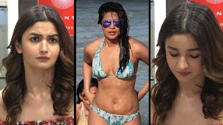 Alia Bhatt AWKWARD MOMENT On Priyanka Chopra