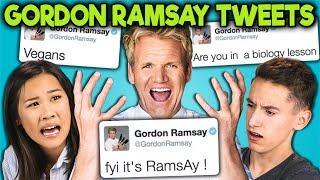 TEENS READ GORDON RAMSAY