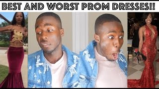 BEST AND WORST PROM DRESSES OF 2017 // INSTAGRAM EDITION!!!
