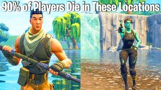 TOP 10 FORTNITE LOCATIONS YOU