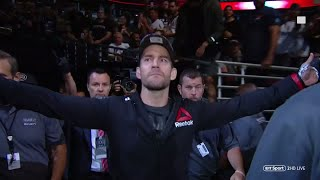"""""""Cult of Personality!"""" CM Punk walks out in front of his home crowd at UFC 225 in Chicago"""