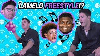 Insane LaMelo Ball, Zion Williamson & Jellyfam FREESTYLE!! Timeflies Drops BARS 🔥