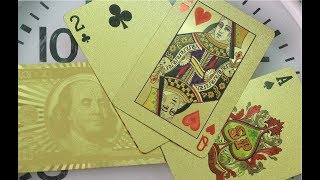 Metal Refining & Recovery, Episode 25: Gold Playing Cards?