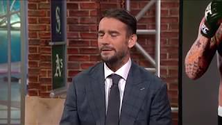 CM Punk Is Going On MTV's 'Champs Vs. Pros' To Stay Busy Between UFC Fights