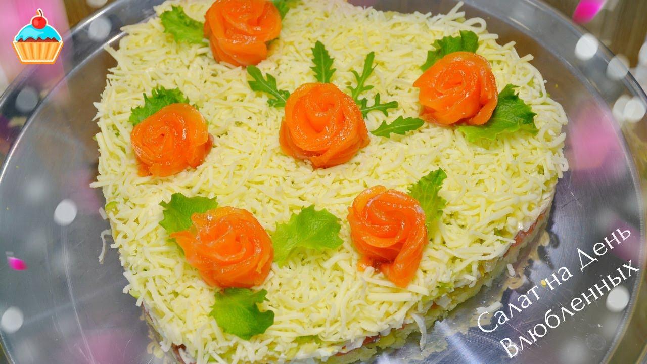 Вкусные салаты с майонезом рецепты