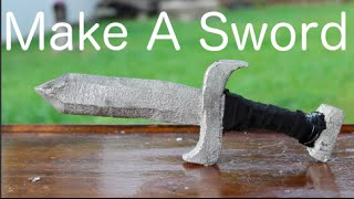 Casting a Sword From Pewter