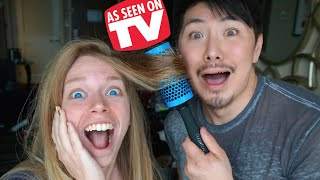 CLICK N CURL - DOES THIS THING REALLY WORK? ft GUY TANG!