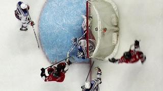 Karlsson beats Lundqvist from impossible angle