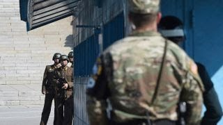 Behind-the-scenes at the Korean Demilitarized Zone