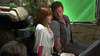 On the set of JURASSIC WORLD - B-Roll