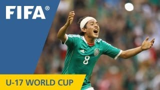 Mexico become world champions at the Azteca