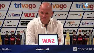 Pressekonferenz vor der Partie Eintracht Braunschweig - VfL Bochum 1848