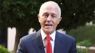 Australia PM Malcolm Turnbull and granddaughter offer Chinese New Year greetings
