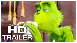 The Grinch Trailer #1 NEW (2018) Benedict Cumberbatch Disney Animated Movie Trailer HD