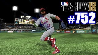 DIVING CATCH TO SAVE THE GAME!   MLB The Show 18   Road to the Show #752