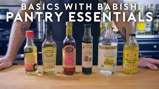 Pantry Essentials   Basics with Babish