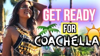 COACHELLA - Get ready with me 🌵☀️😍 | Dagi Bee