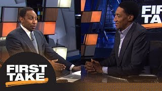 Stephen A. and Scottie Pippen intensely debate LeBron James vs. Michael Jordan | First Take | ESPN