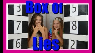 BOX OF LIES || Taylor and Vanessa