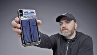 The Project Tesla Solar Powered Smartphone