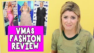 VMAs FASHION REVIEW // Grace Helbig