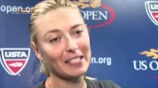 Maria Sharapova interview in russian