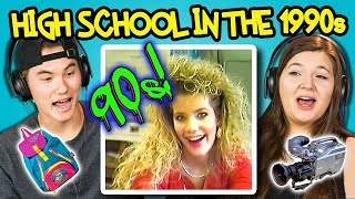 Teens React to What High School Was like in 1990