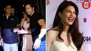 Varun – David's Constant Bickering On 'Judwaa 2' Set | Jacqueline To Celebrate Her Birthday In Tokyo