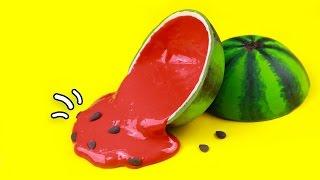 DIY - Wassermelone mit Schleim selber machen! 🍎