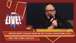 Marvel writer Gerry Duggan talks Infinity Warps, writing advice and more at NYCC 2018!