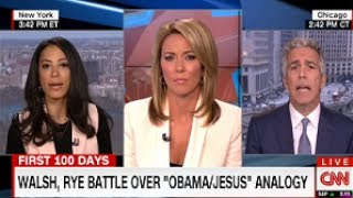 """YES Barack Obama IS The Antichrist! CNN: """"Obama Is Next Best Thing To Jesus"""" WAKE UP! WE FLY SOON!!!"""