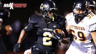 Najee Harris (Alabama Commit) - Top 5 Plays