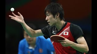 Koki Niwa _ Japanese table tennis player