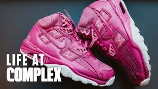 Exclusive Nike Breast Cancer Sneakers Revealed! | #LIFEATCOMPLEX
