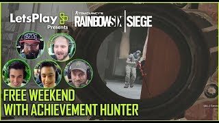 Rainbow Six Siege: Free Weekend with Achievement Hunter   Let's Play Presents   Ubisoft [NA]