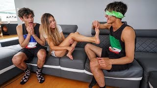 TOUCH MY BODY CHALLENGE WITH GIRLFRIEND!