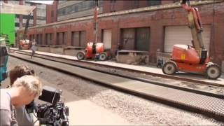 Divergent Stunts BTS Making the Jump, Catching the Train, and Tris & Four Fight