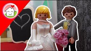 Playmobil Film deutsch Die Hochzeit von Nicole und Michael  / Kinderfilm von family stories