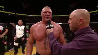 UFC 200: Brock Lesnar - Octagon Interview
