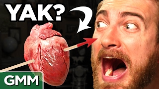 Animal Heart Taste Test