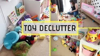 TOY PURGE || TOY DECLUTTER BEFORE CHRISTMAS