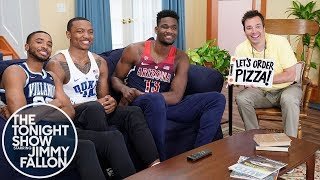 Jimmy Fallon & NBA Draft Stars