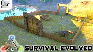 ARK: Survival Evolved   BASE BUILDING WA... 3 Years Ago