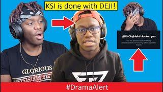 KSI kicked DEJI out of his LIFE! #DramaAlert EXPLANATION of KSI vs DEJI (FOOTAGE)